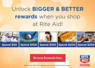 Shop Your Favorite Products at Rite Aid, Earn Beauty Treatments, Concert Tickets, Resort Stays & More!